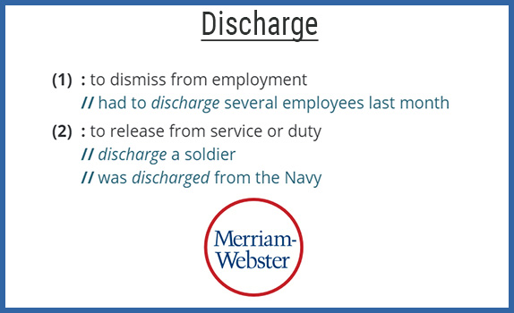 Discharged From A Job What Does It Mean For You
